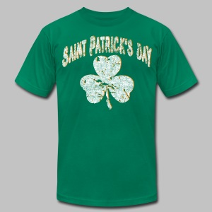 Saint Patrick's Day - Men's T-Shirt by American Apparel
