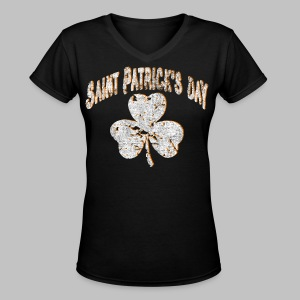 Saint Patrick's Day - Women's V-Neck T-Shirt