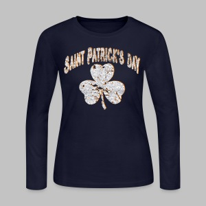 Saint Patrick's Day - Women's Long Sleeve Jersey T-Shirt