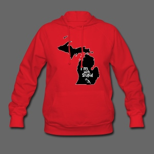 I'm with Stupid Ohio Women's Hooded Sweatshirt - Women's Hoodie