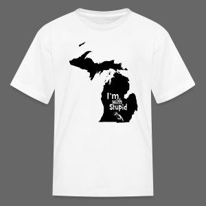 I'm with Stupid Ohio Children's T-Shirt - Kids' T-Shirt