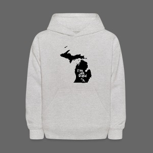 I'm with Stupid Ohio Kid's Hooded Sweatshirt - Kids' Hoodie
