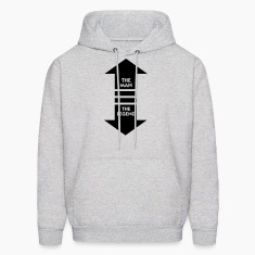 The Man The Legend (1c) Hoodies