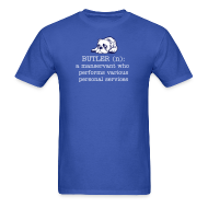 T-Shirts ~ Men's T-Shirt ~ Butler defined