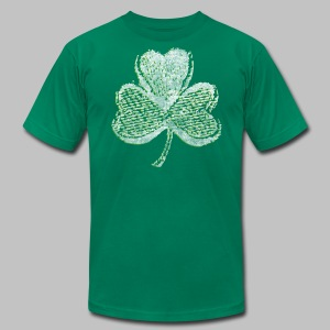 Old Shamrock Style - Men's T-Shirt by American Apparel