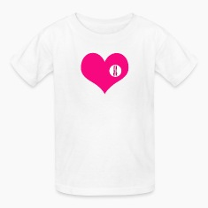 you are here - love and valentine's day gift T-shirts Enfant