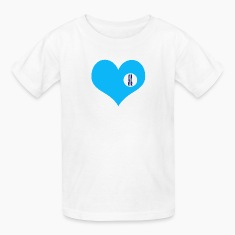 you are here - love and valentine's day gift Kids' Shirts