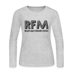Relentless Forward Motion - Women's Long Sleeve Jersey T-Shirt