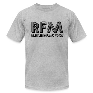 Relentless Forward Motion - Men's T-Shirt by American Apparel