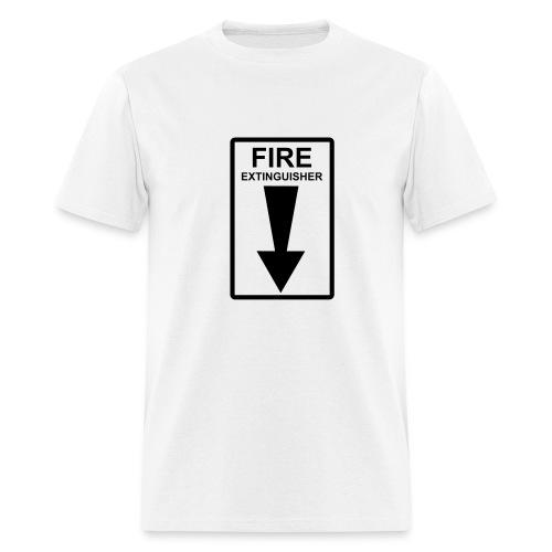 Fire Lightweight Cotton Tee - Men's T-Shirt