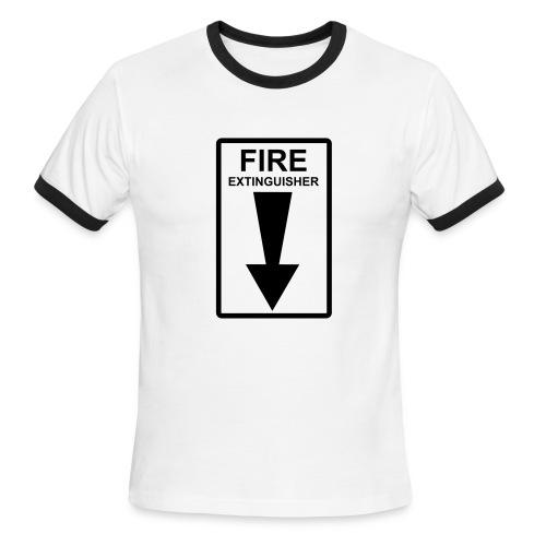 Fire Ringer Tee - Men's Ringer T-Shirt