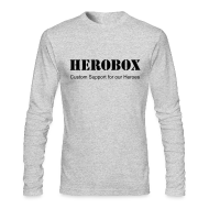 Long Sleeve Shirts ~ Men's Long Sleeve T-Shirt by Next Level ~ Hero Sleeves