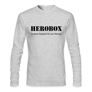 Hero Sleeves - Men's Long Sleeve T-Shirt by Next Level