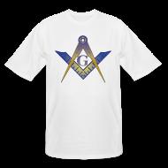 T-Shirts ~ Men's Tall T-Shirt ~ The Symbol for the tall Mason
