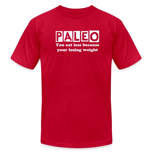 Paleo directions - Men's  Jersey T-Shirt