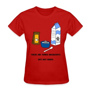 The Cereal Grind (Women) - Women's T-Shirt