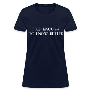 Priorities Straight (Women's Style) - Women's T-Shirt