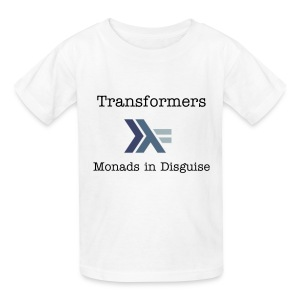 Transformers: Monads in Disguise for Kids - Kids' T-Shirt