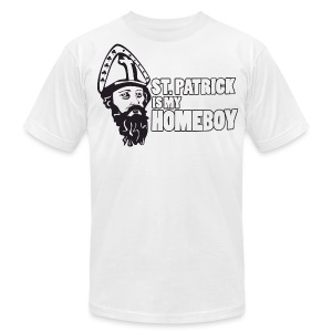 St. Patrick Homeboy - Men's T-Shirt by American Apparel