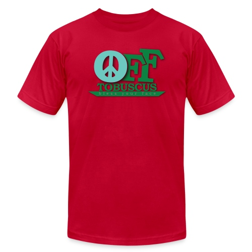 PEACE OFF - Tobuscus (american apparel) - Men's Fine Jersey T-Shirt
