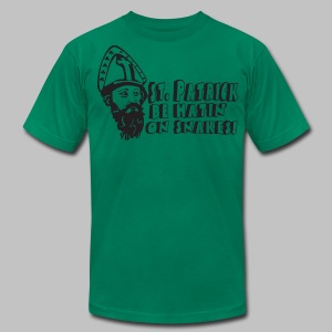 St. Patricks Snakes - Men's T-Shirt by American Apparel
