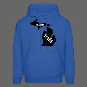 Yoopers and Trolls Men's Hooded Sweatshirt - Men's Hoodie