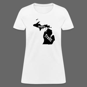 Yoopers and Trolls Women's Standard Weight T-Shirt - Women's T-Shirt
