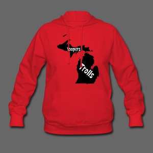 Yoopers and Trolls Women's Hooded Sweatshirt - Women's Hoodie