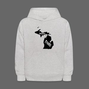 Yoopers and Trolls Kid's Hooded Sweatshirt - Kids' Hoodie