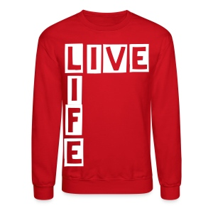 Live Life in a Box - Crewneck Sweatshirt