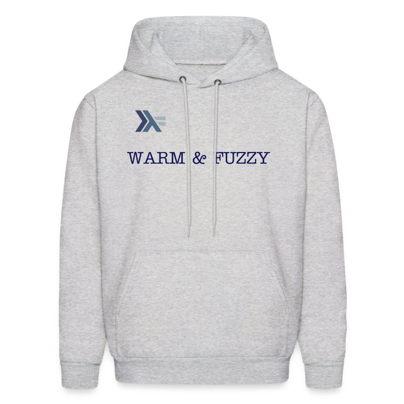 Warm and Fuzzy for Men - Men's Hoodie