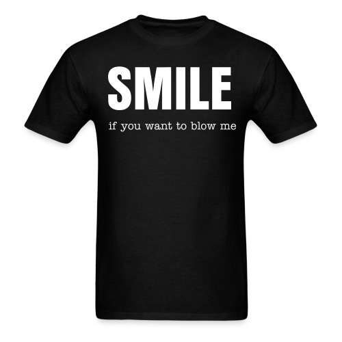 SMILE... - Men's T-Shirt