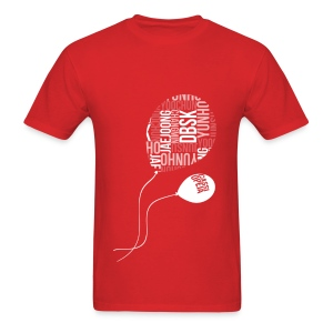 DBSK - Balloons [red] - Men's T-Shirt