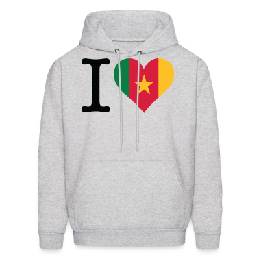 I Love Cameroon (DD) Hoodies
