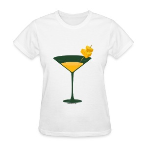 Green Bay Packer-tini tee - Women's T-Shirt