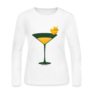 Green Bay Packer-tini long sleeve tee - Women's Long Sleeve Jersey T-Shirt