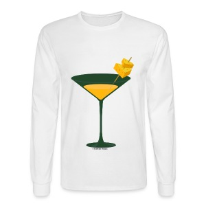 Green Bay Packer-tini long sleeve tee - Men's Long Sleeve T-Shirt