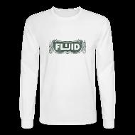Long Sleeve Shirts ~ Men's Long Sleeve T-Shirt ~ 1903 White Long Sleeve