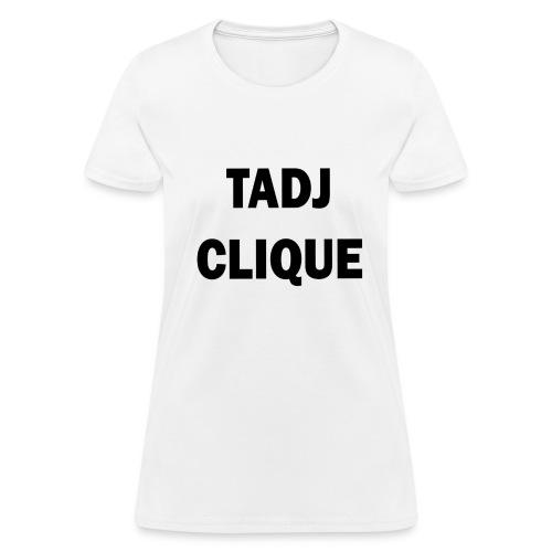 TADJ CLIQUE BLACK (WOMEN'S) - Women's T-Shirt