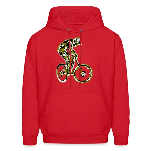 MTB Hoodie - Downhill Rider - Men's Hoodie
