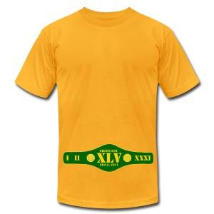 Title Belt - Men's Fine Jersey T-Shirt