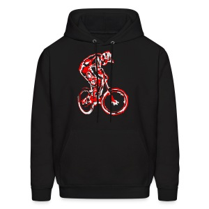 MTB Shirt Long Sleeve - Downhill Rider - Men's Hoodie
