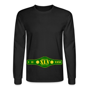 Title Belt - Men's Long Sleeve T-Shirt