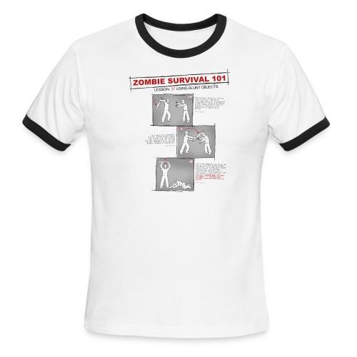 Zombie Survival - Men's Ringer T-Shirt