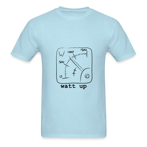 watt up - Men's T-Shirt