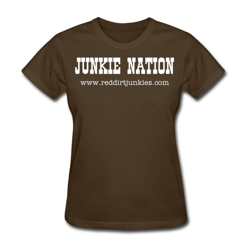 Girl's Junkie Nation T-shirt - Women's T-Shirt