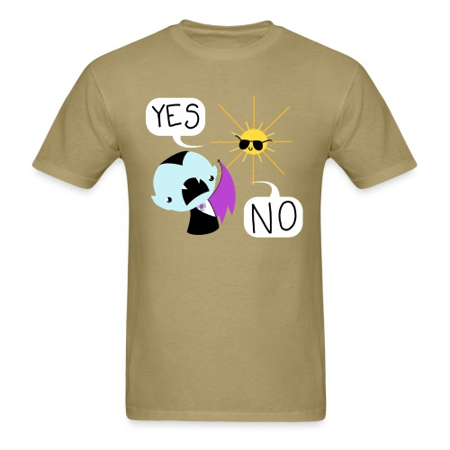 YES and NO dudes' tee - Men's T-Shirt