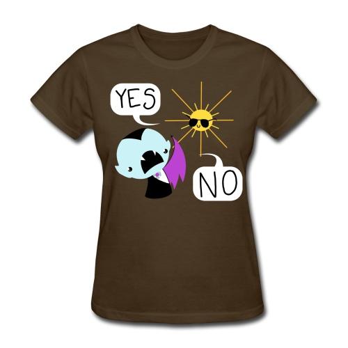 YES and NO ladies' tee - Women's T-Shirt