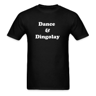T-Shirts ~ Men's T-Shirt ~ IZATRINI Original Dance & Dingolay