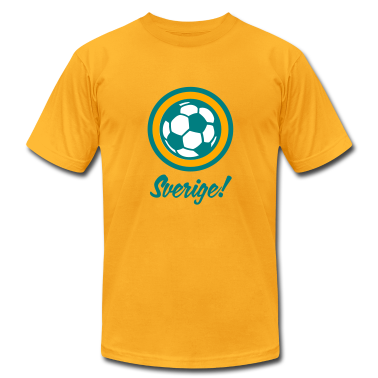 Sverige Sweden Football Soccer Circles (3c) T-Shirts